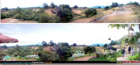 Desain Konsep Taman Waduk Keuliling Banda Aceh